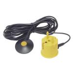 ESD Erdungsbaustein mit 4,5 m Glattkabel, gelb