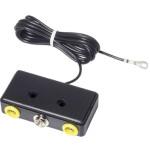 ESD Erdungsbox EBP 1 x 10 mm Druckknopfanschluss/2 x 3M Sicherheitsbuchse