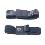 ESD-Handgelenkband mit 3 mm Druckknopf dunkelblau