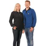 ESD Poloshirt Langarm, schwarz