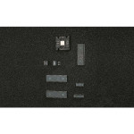 ESD PE-Schaumstoff hart, 253 x 353 x 6 mm