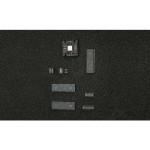 ESD PE-Schaumstoff hart, 353 x 553 x 10 mm