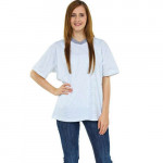 ESD T-Shirt, V-Ausschnitt, weiß