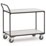 fetra ESD Tischwagen 1841 mit 2 Böden, 1000 x 600 mm, 300 kg