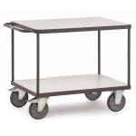 fetra ESD Tischwagen 9400 mit 2 Böden, 850 x 500 mm, 500 kg