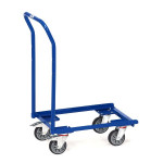 fetra Eurokasten-Roller 13587, 610 x 410 mm, 250 kg