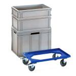fetra Eurokasten-Roller 13590, 610 x 410 mm, 250 kg