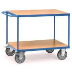 fetra Tischwagen 2401 mit 2 Böden, 1000 x 600 mm, 500 kg
