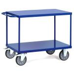fetra Tischwagen 2401 B mit 2 Böden, 1000 x 600 mm, 500 kg