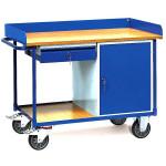 fetra Werkstattwagen 2436 mit Arbeitsplatte 1120 x 650 mm, 400 kg