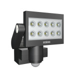Steinel Sensor-LED-Strahler XLed 10, schwarz, ca. 25 W