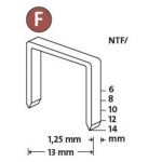 Novus Flachdrahtklammer Typ NTF/6 (960 Stück)