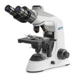 Kern Durchlichtmikroskop OBE 124, Trinokular, 4x/10x/40x
