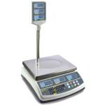 Kern Preisrechnende Ladenwaage RPB 6K1DHM, Ablesbarkeit 1g/max. 3kg und 2g/max. 6kg
