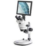 Kern Stereo-Zoom-Mikroskop OZL 464T241, mit Tablet-Kamera, WLAN, USB 2.0, HDMI, 0,7x-4,5x