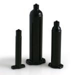 Nordson EFD Dosierkartuschen Optimum®, schwarz, 3cc (50 Stück)