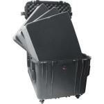 Peli Schutzkoffer 0340 Cube Case mit Schaum, schwarz