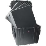 Peli Schutzkoffer 0350 Cube Case mit Schaum, schwarz