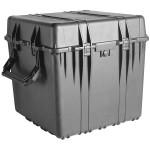 Peli Schutzkoffer 0370 Cube Case, leer, schwarz