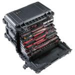 Peli Schutzkoffer 0450 Mobile Tool Chest mit Schubladen, schwarz