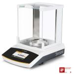 Sartorius Analysenwaage Secura® 124-1CEU, geeicht, Ablesbarkeit 0,1mg / max. 120g