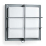 Steinel LED-Sensor-Leuchte L 691 LED, Glas-Abdeckung, anthrazit, 16 W