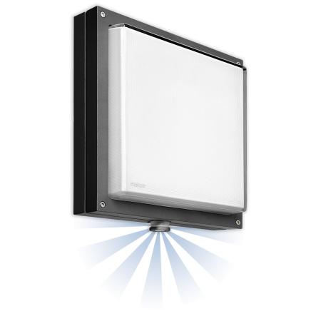 Steinel Sensor Leuchte L 360 Plan Alu Anthrazit 26 W